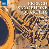 Kenari Quartet : French Saxophone Quartets