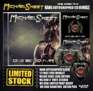 One Sided War: Hand Autographed Cd Bundle (Cd+signed Booklet+sticker+print+guitar Pick)