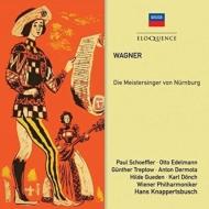 『ニュルンベルクのマイスタージンガー』全曲 ハンス・クナッパーツブッシュ&ウィーン・フィル、シェフラー、トレプトウ、他(1950-51 モノラル)(4CD)
