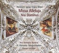 36声の『ミサ・アレルヤ』、ニシ・ドミヌス、他 グナール・レツボール&アルス・アンティクァ・オーストリア、聖フロリアン少年合唱団