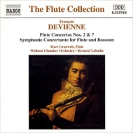 Flute Concertos, Sinfonia Concertante: Grauwels(Fl)Labadie / Walloon Co