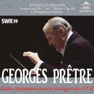 交響曲第1番、ハンガリー舞曲集 ジョルジュ・プレートル&シュトゥットガルト放送交響楽団(2000、1997)