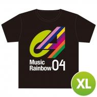 Tシャツ【XL】 / Music Rainbow 04