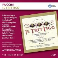 三部作 アントニオ・パッパーノ&ロンドン響、フィルハーモニア管、グレギーナ、ガイヤルド=ドマス、ゲオルギュー、他(1997 ステレオ)(3CD)