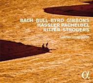 『イタリア音楽の遺産〜17、18世紀ドイツとイギリスの鍵盤楽曲』 グスタフ・レオンハルト(クラヴィオルガヌム、チェンバロ)(日本語解説付)