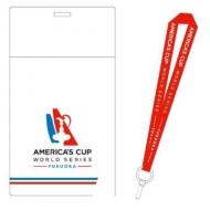 大会公式チケットホルダー(※ネックストラップ付き)/ ルイ・ヴィトン・アメリカズカップ・ワールドシリーズ