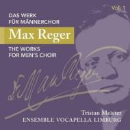 男声合唱のための作品集第1集 トリスタン・マイスター&アンサンブル・ヴォーカペラ・リンブルク