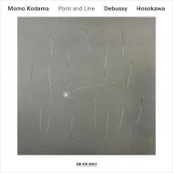 『点と線〜ドビュッシー:12の練習曲、細川俊夫:エチュードI-VI』 児玉 桃