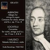 ロカテッリ:ヴァイオリン協奏曲集、アルビノーニのアダージョ、他 イ・ムジチ、ロベルト・ミケルッチ、他