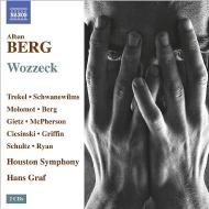 『ヴォツェック』全曲 ハンス・グラーフ&ヒューストン交響楽団、ローマン・トレーケル、アンネ・シュヴァネヴィルムス、他(2013 ステレオ)(2CD)