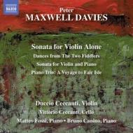 ヴァイオリンのための作品集 ドゥッチョ・チェカンティ、ブルーノ・カニーノ、他