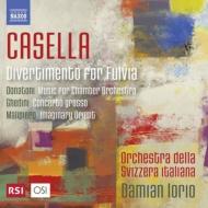 カゼッラ:ディヴェルティメント、マリピエロ:東洋の印象、ゲディーニ:合奏協奏曲、他 ダミアン・イオリオ&スイス・イタリア語放送管弦楽団