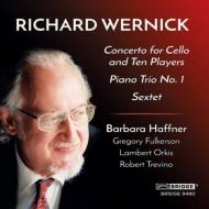 チェロ協奏曲、六重奏曲、ピアノ三重奏曲 バーバラ・ハフナー、ロバート・ハンフォード、ランバート・オーキス、他