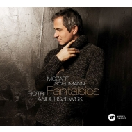 Piotr Anderszewski : Fantaisies -Mozart, Schumann Piano Works (+DVD)