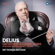 管弦楽曲集、歌劇『村のロメオとジュリエット』全曲、他 トマス・ビーチャム&ロイヤル・フィル(7CD)