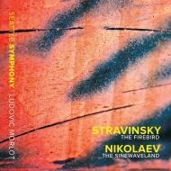 ストラヴィンスキー:『火の鳥』全曲、ニコラエフ:『The Sinewaveland〜ジミ・ヘンドリックスへのオマージュ』 リュドヴィク・モルロー&シアトル交響楽団