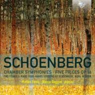 室内交響曲第1番、第2番、5つの小品(ピアノ版) マッテオ・フォッシ、マルコ・ガッジーニ