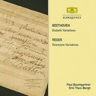 Beethoven Diabelli Variations : Paul Baumgartner(P)+Reger Telemann Variations : Erik Then-Bergh(P)
