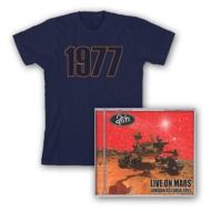 Live On Mars: Cd +1977 T-shirt (Cd+t-shirt)(M Size)