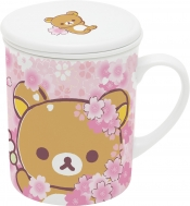 ストレーナー付マグカップ(リラックマ) / 桜リラックマテーマ