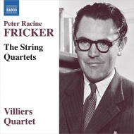 弦楽四重奏曲集、アダージョとスケルツォ ヴィラーズ四重奏団