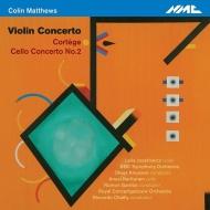 ヴァイオリン協奏曲(リーラ・ジョゼフォヴィッツ、ナッセン&BBC響)、葬列(リッカルド・シャイー&コンセルトヘボウ管)、チェロ協奏曲第2番(カルットゥネン)