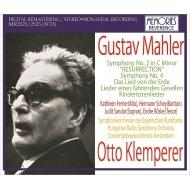 交響曲第2番『復活』(1965年バイエルン、ステレオ)、大地の歌(1948年ハンガリー)、交響曲第4番(1956年バイエルン)、他 オットー・クレンペラー(3CD)