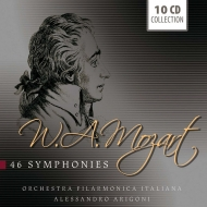 Complete Symphonies : Alessandro Arigoni / Orchestra Filarmonica Italiana (10CD)