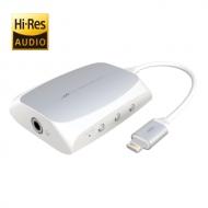 iOS専用 ハイレゾ対応 DAC搭載ヘッドホンアンプ AL-LCH91W