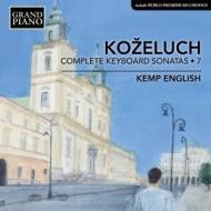 Complete Piano Sonatas Vol.7: Kemp English