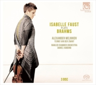 Violin Concerto, Violin Sonatas Nos.1, 2, 3, Horn Trio, Sextet No.2 : Isabelle Faustt(Vn)Daniel Harding / Alexander Melnikov(P)etc(3SACD)(Single Layer)