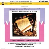 シューベルト:交響曲第8番『未完成』、モーツァルト:アイネ・クライネ・ナハトムジーク ラファエル・クーベリック&ウィーン・フィル
