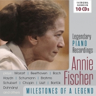 Legendary Piano Recordings アニー・フィッシャー名演集(10CD)