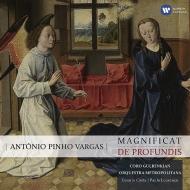 バルガス、アントニオ・ピーニョ(1951-)/Magnificat De Profundis: C.costa / Lourenco / Gulbenkian Cho Metropolitana O