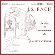 無伴奏チェロ組曲(全曲):ジャン=マックス・クレマン(チェロ)(高音質盤/2枚組/180グラム重量盤レコード/韓国C&L Music)