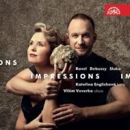 『Impressions〜オーボエとハープによるラヴェル、ドビュッシー、スルカ』 ヴィレム・ヴェヴェルカ、カテジナ・エングリホヴァー