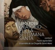 Oratorio Per La Settimana Santa: Agsteribbe / Canto Lx Ensemble De La Chapelle Saint-marc