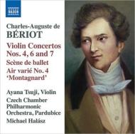 ヴァイオリン協奏曲第4番、第6番、第7番、『モンタニャール』、バレエの情景 辻 彩奈、ミヒャエル・ハラース&チェコ室内フィル