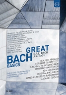 Great Bach Basics -J.S.Bach & C.P.E.Bach Works : Abbado / Blomstedt / Masaaki Suzuki / Koopman / etc (12CD)