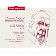 Brahms Symphony No.1, Beethoven Piano Concerto No.3 : Neeme Jarvi / Estonian National Symphony Orchestra, Kalle Randalu(P)