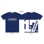 Tシャツ紺(L)/Say the name #SEVENTEEN