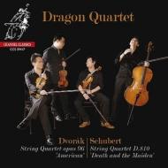 Schubert String Quartet No.14, Dvorak String Quartet No.12 : Dragon Quartet