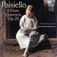 6つのフルート四重奏曲集 ガブリエレ・フォルメンティ、イル・デメトリオ