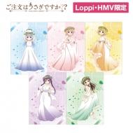 A4クリアファイルセット(花冠)【Loppi・HMV限定】 / ご注文はうさぎですか??