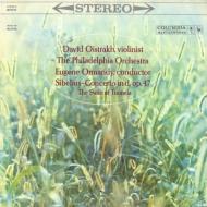 ヴァイオリン協奏曲、トゥオネラの白鳥:オイストラフ(ヴァイオリン)、オーマンディ指揮&フィラデルフィア管弦楽団 (180グラム重量盤レコード/Speakers Corner)