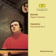 ブラームス:パガニーニ変奏曲、プロコフィエフ:ピアノ・ソナタ第6番 ミハイル・フェールマン