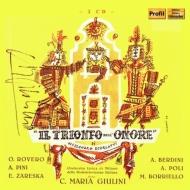 『貞節の勝利』全曲 カルロ・マリア・ジュリーニ&ミラノRAI交響楽団、サンテ・メッシーナ、オルネッラ・ロヴェーロ、他(1950 モノラル)(2CD)