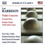 ヴァイオリン協奏曲、グラン・デュオ、2つの音楽 ティム・フェイン、アンヘル・ジル=オルドネス&ポストクラシカル・アンサンブル、マイケル・ボリスキン