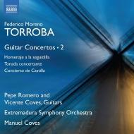 ギター協奏曲集第2集 ペペ・ロメロ、ビセンテ・コベス、マヌエル・コベス&エストレマドゥーラ交響楽団