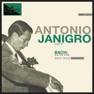 無伴奏チェロ組曲 全曲:アントニオ・ヤニグロ(チェロ) (BOX仕様/3枚組/180グラム重量盤レコード)